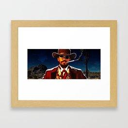 The D is Silent Framed Art Print