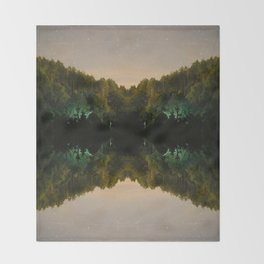 Perfect Reflection Throw Blanket
