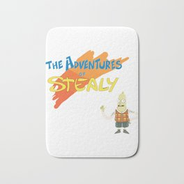 Rick and Morty The Adventures of Stealy w-Stealy Bath Mat