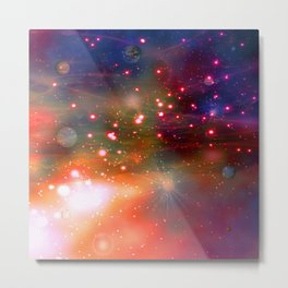 Shadow Galaxy Metal Print