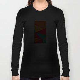 Neon Tangram Long Sleeve T-shirt