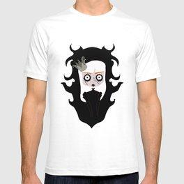 Horror portrait (girl) T-shirt