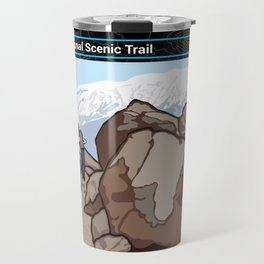 Vintage Poster - Pacific Crest National Historic Trail (2018) Travel Mug