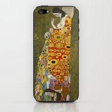 Hope II by Gustav Klimt  iPhone & iPod Skin