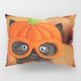 Halloween cat Pillow Sham