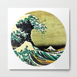 beauty wave Metal Print