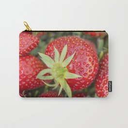 Fresh organic strawberries Carry-All Pouch