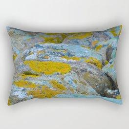 Colourful rocks Rectangular Pillow