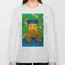 "Vincent van Gogh ""Portrait of Joseph Roulin"" Long Sleeve T-shirt"