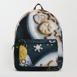 Santa's Christmas Cookies (Color) Backpack