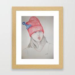 raw Framed Art Print