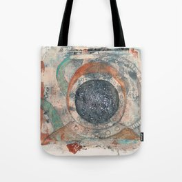 Under the sea in outer space Tote Bag