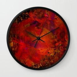 Oran 6 Wall Clock