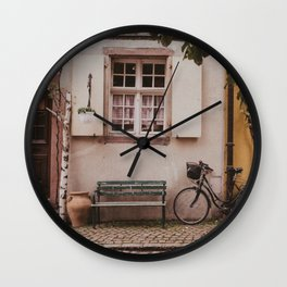 Le Vélo Wall Clock