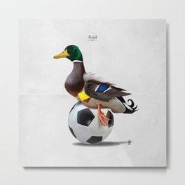 Fowl Metal Print