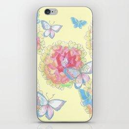 Butterfly Love iPhone Skin