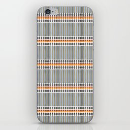 Geometric Stripes Seamless Vector Pattern Art Deco iPhone Skin