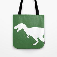 T- Rex Dinosaur Emerald Green  Tote Bag
