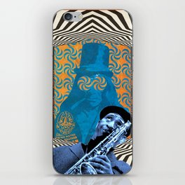 Sonny Rollins Victor Moscoso David Lynch mashup iPhone Skin