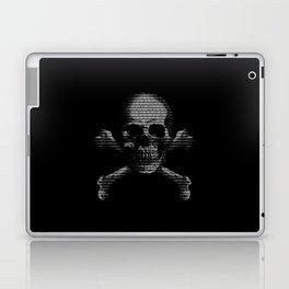 Hacker Skull and Crossbones Laptop & iPad Skin