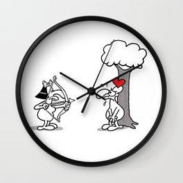Love Shot Wall Clock