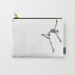 Ballet Skeleton Carry-All Pouch
