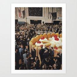 Trading Floor Art Print