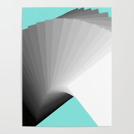 Flying Cards Poster