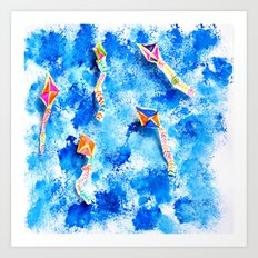 FREE SPiRiT KiTES | Fashion Kids Art Print