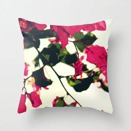 Bugambilia Santa Rita Throw Pillow