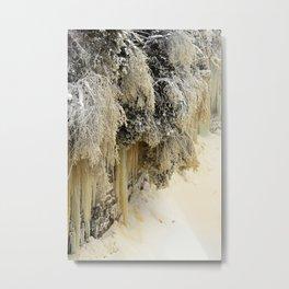 Ice Sculptures Metal Print
