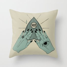 NAH Throw Pillow