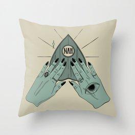 NAH Throw Pillow