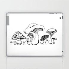 Vintage style Mushroom Grouping  drawing Laptop & iPad Skin