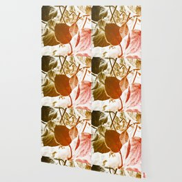 Abstract autumn leaves. Wallpaper