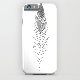 Mininal Feather iPhone Case