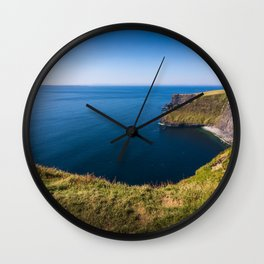 Cliffs of Moher, Ireland Wall Clock