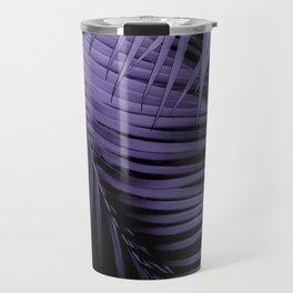 Palm Leaves Ultra Violet Vibes #1 #tropical #decor #art #society6 Travel Mug