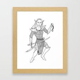 Brilex the elf Framed Art Print