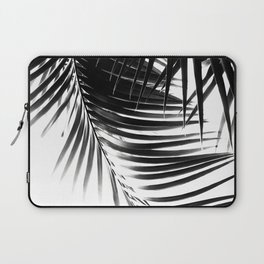 Palm Leaves Black & White Vibes #1 #tropical #decor #art #society6 Laptop Sleeve