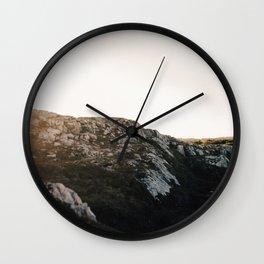 Fogo Island Landscape Wall Clock