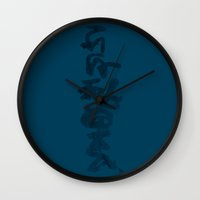 japanese Wall Clocks featuring Japanese by Stephen John Bryde