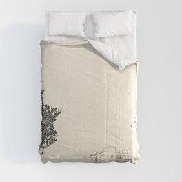 Tom's Favourite Spot —Angels Knoll Park, LA —(500) Days of Summer Comforters