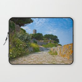 Once Upon a Guernsey Path Laptop Sleeve