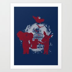 Peace Party Art Print