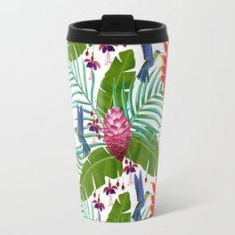 Hummingbird in the Rainforest Travel Mug