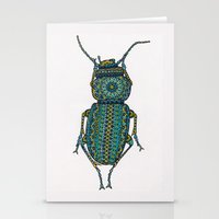 beetle Stationery Cards featuring Beetle by artworkbyemilie