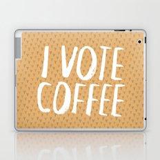 I Vote Coffee Laptop & iPad Skin
