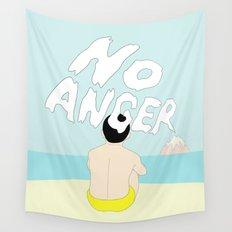 NO ANGER Wall Tapestry