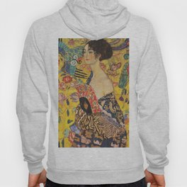Gustav Klimt - Lady With Fan Hoody